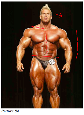 body building asymmetry